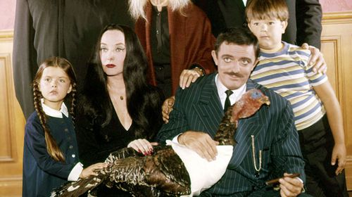 Mr Weatherwax in a still from the original 'Addams Family' television show. (Getty)