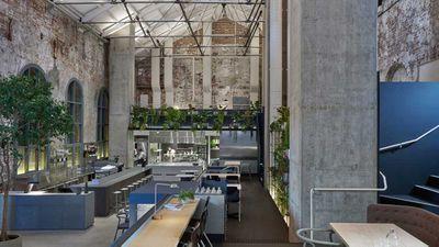 "<strong>Winner Best Café Design 2016 – <a href=""http://www.highergroundmelbourne.com.au/"" target=""_top"">Higher Ground</a>,Melbourne</strong>"