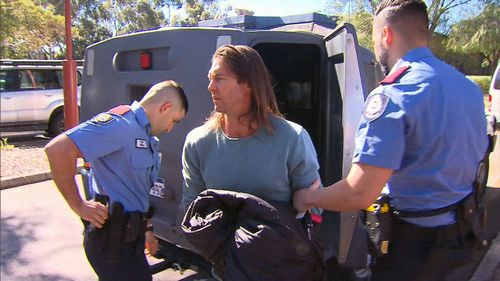 Ben Cousins has been freed from prison after two charges against him were dropped.