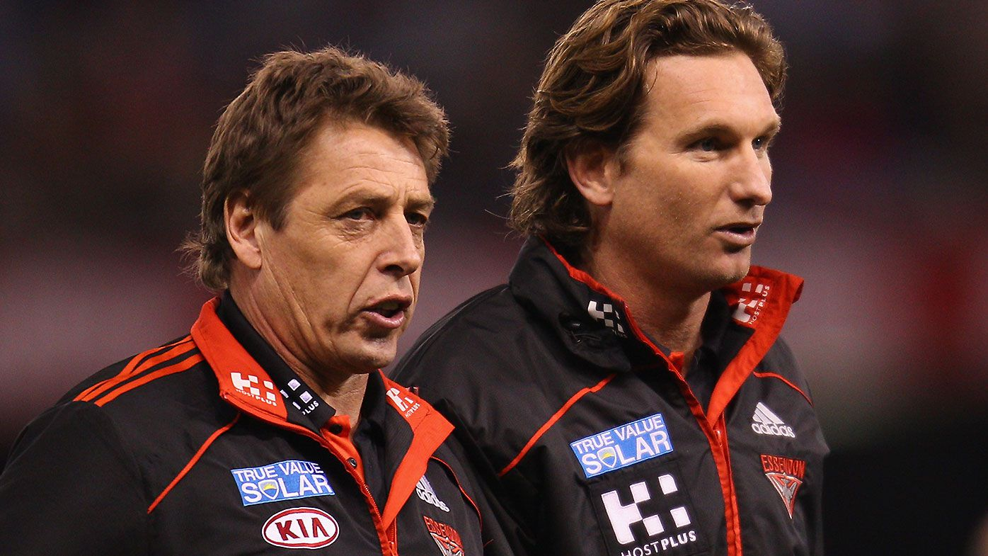 'I didn't care about the hurt': How James Hird helped Mark Thompson get his life back on track
