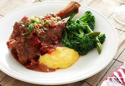 <strong>Slow-cooker lamb shanks</strong>