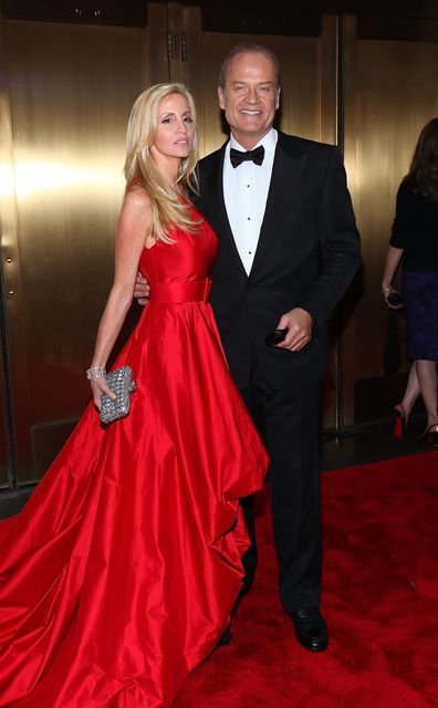 Kelsey Grammer, Camille Grammer, red carpet, event, Tony Awards