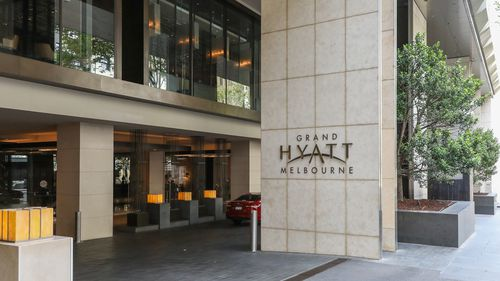 Grand Hyatt Hotel in Melbourne