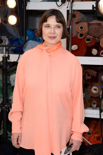 "<a href=""http://style.nine.com.au/2017/07/25/11/08/isabella-rossllini-son-model-campaign"" target=""_blank"">Isabella Rossellini&nbsp;</a>in Sies Marjan turned up at the Sies Marjan show at New York Fashion Week to support her son Roberto Rossellini.&nbsp;"