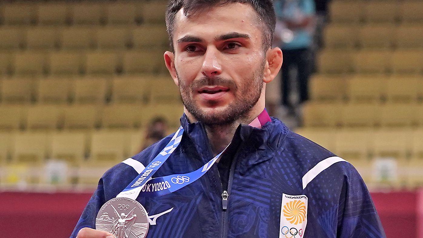 Vazha Margvelashvili wins silver