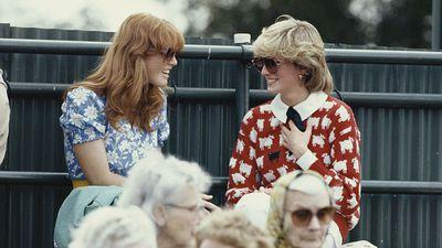 Princess Diana and Sarah Ferguson, 1983