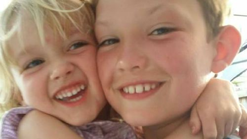 Jack Power (right) was fatally struck by a van.