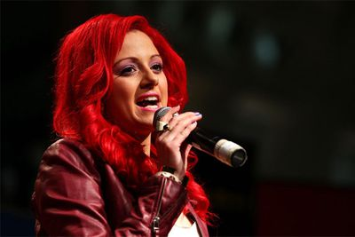 The flame-haired singer-songwriter was a favourite with the judges, but she came in fourth place when it came to a final public vote.
