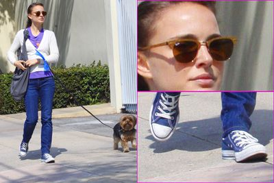 Natalie Portman became a hipster poster girl after her role in <i>Garden State</i>. With a Harvard education, quirky look, kooky sunnies and Chuck Taylor's, Natalie is pretty much 'the' female hipster.