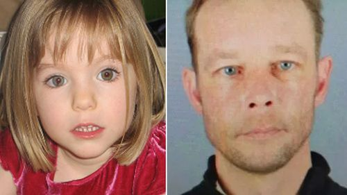 Christian Brueckner and Maddie McCann
