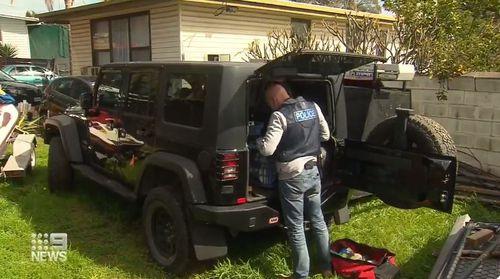 Seacombe Adelaide drug arrest
