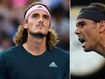 Spot in the final up for grabs as Rafa and Greek star battle it out