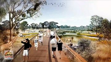 Bitter blue sparked over new western Sydney zoo