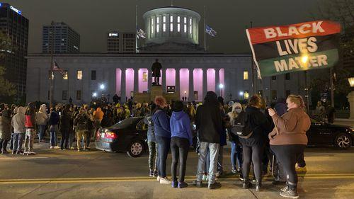 , Police in Columbus, Ohio fatally shoot Black teenage girl minutes after George Floyd murder verdict,