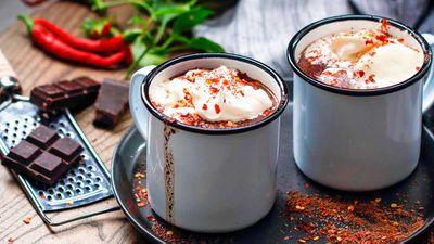 """Recipe: <a href=""""http://kitchen.nine.com.au/2017/07/07/13/04/sugar-free-chilli-hot-chocolate"""" target=""""_top"""">Sugar-free chilli hot chocolate</a>"""