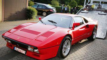 The rare Ferrari was stolen on Monday. Credit: DIETER STANIEK/Getty Images