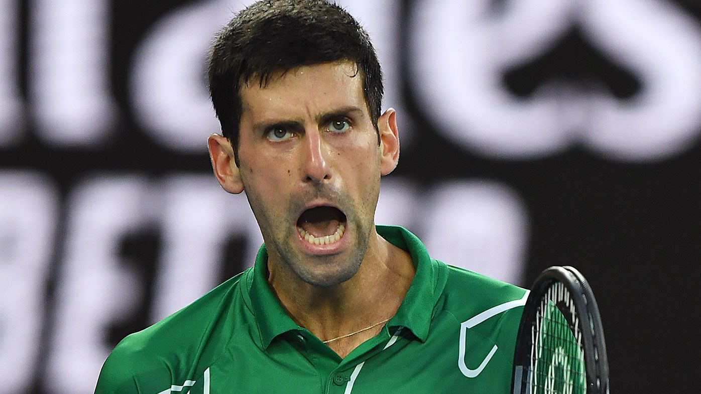 Novak Djokovic frustrated with fans at Australian Open final