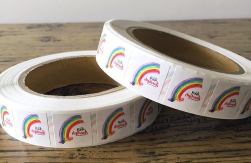 Charity The Pink Elephants is introducing rainbow stickers to hospitals to put on patient's medical forms, so doctors can identify those that may have lost a child or had a difficult journey.