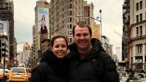 Brad and Lara get engaged in New York