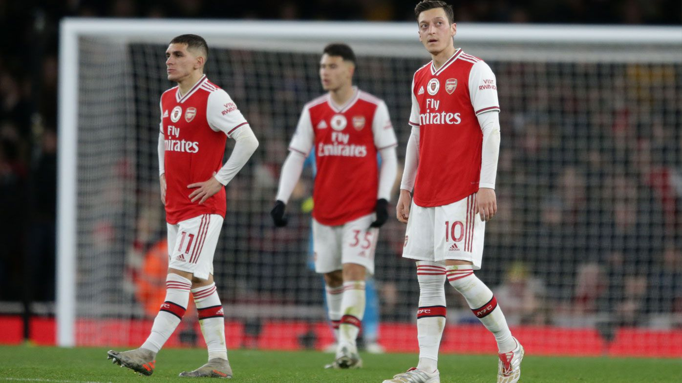 Unai Emery says some of Arsenal's stars needed a better attitude