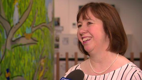 Principal Elisabeth Rhodes spoke to 9News about the dramatic uniform change.