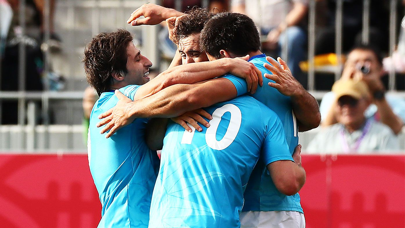 Uruguay claim first Rugby World Cup win since 2003 over wasteful Fiji