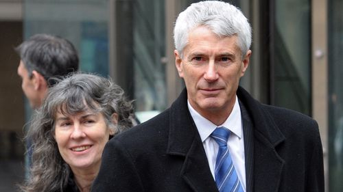Anthony Foster and wife, Christine. (AAP)