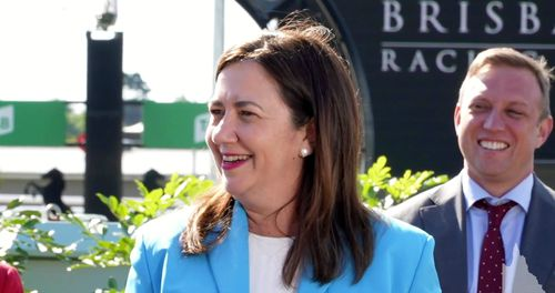 The Premier also revealed she had received a tetanus shot before her flu shot two weeks ago, making today's COVID vaccine the third jab she's received in the past several weeks.