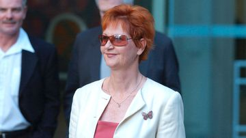 Pauline Hanson's sister could replace embattled One Nation senator Malcolm Roberts in the Senate (AAP Image/Tony Phillips).