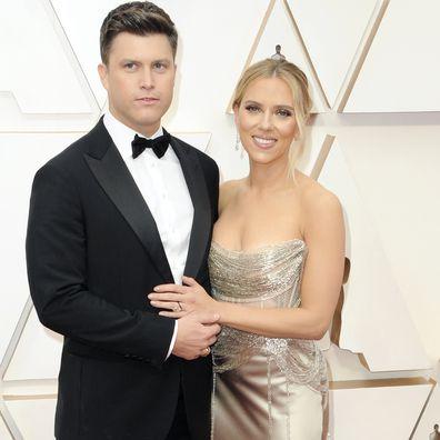 Scarlett Johansson and Colin Jost