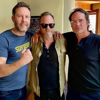 Kiefer Sutherland, Jason Patric and Julia Roberts, love triangle, podcast, interview, Michael Rosenbaum's Inside of You.