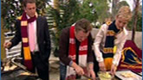 Luke Mangan cooking
