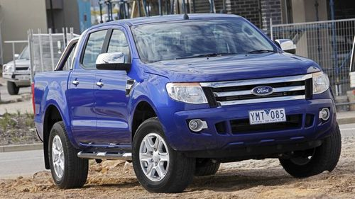 Ford's flagship dual-cab ute, the Ranger.