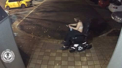 CCTV released of wheelchair theft at Richmond