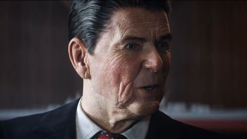 US President Ronald Reagan features in the game which is set at the height of the Cold War. (Call of Duty: Black Ops Cold War)