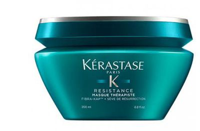 "<p><a href=""https://www.adorebeauty.com.au/kerastase/kerastase-masque-therapiste.html"" target=""_blank"" title=""Kerastase Masque Therapiste 200ml, $66"">Kerastase Masque Therapiste 200ml, $66</a></p> <p>Give your tresses some tender loving care with this deliciously rich mask from the hair gods at Kerastase Paris.</p>"