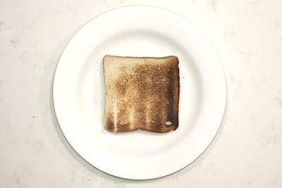 Plain toast: 85 calories per slice