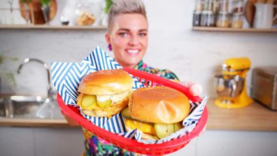 Jane de Graaff's ultimate cheeseburger at home