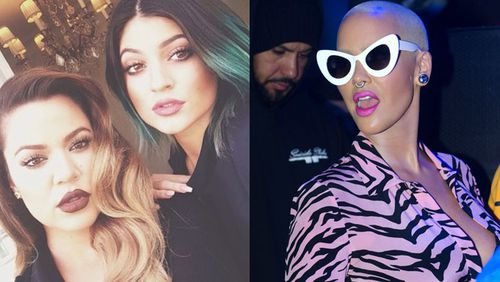 Amber Rose v Khloe Kardashian: insults, stripper allegations and name calling exchanged in Twitter war