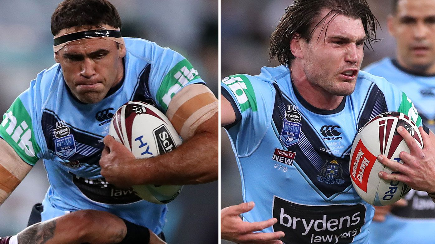 NSW Blues coach Brad Fittler welcomes back Angus Crichton and Dale Finucane ahead of Origin II