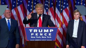 Trump versus the world: A year since election day