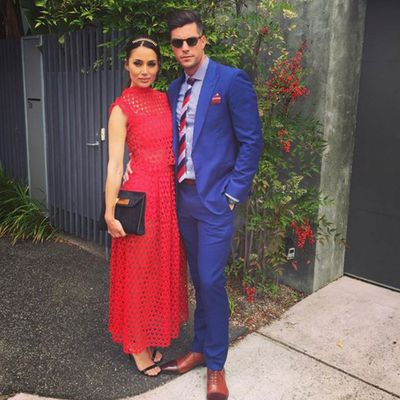 Snezana Markoski and Sam Wood