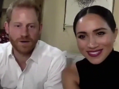Harry and Meghan speak about son Archie.