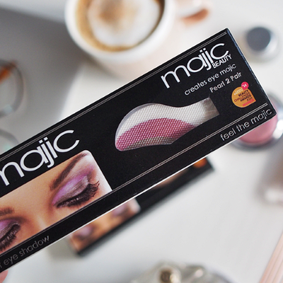 "<a href=""http://www.skinsentials.com.au/eye-majic-instant-eye-shadow?gclid=CI6r3ZWAiNUCFY2WvQodmDIEHQ"" target=""_blank"">Eye Majic Instant Eye Shadow, $3.50.</a> Why? No time to blend a smokey eye? Press it on and peel it off and you're left with 'blended' shadow that lasts all day."
