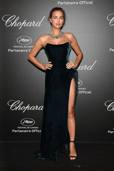 Irina Shayk a the Chopard Secret Night during the 71st annual Cannes Film Festival, May, 2018