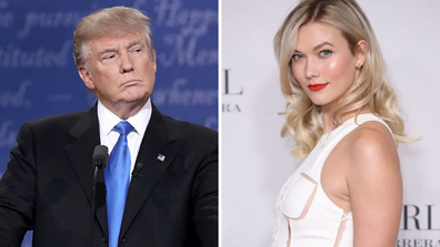Karlie Kloss has opened up about what it's like having the Trump family has in-laws.