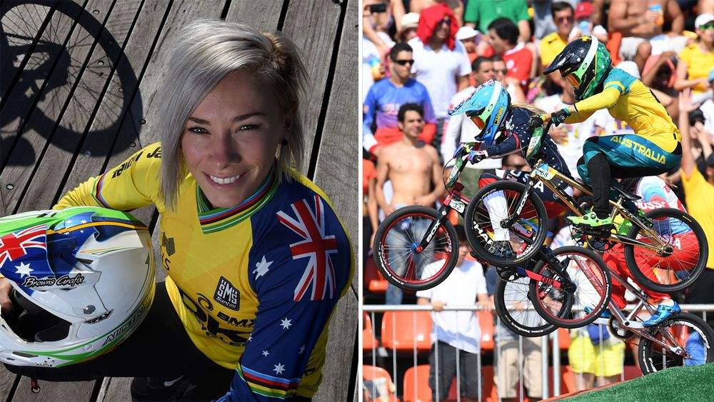 Cycling star and two-time Olympian Caroline Buchanan injured in car crash