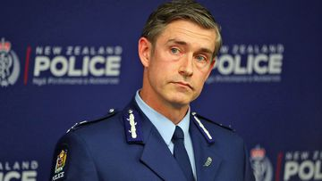 New Zealand Police Commissioner Andrew Coster speaks to the media on June 19, 2020 in Auckland, New Zealand
