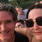 Kate Langbroek told Dave Hughes via text she was taking a break from radio