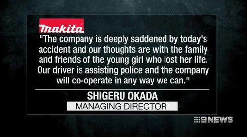 Makita Australia issued a statement yesterday. (9NEWS)